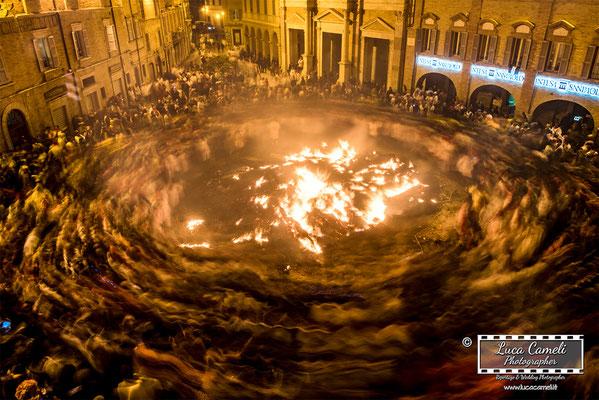 """Carnevale Storico Di Offida, Vlurd 2019 """"Girone Inferno Dantesco"""""""