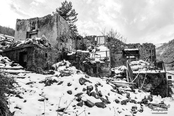Terremoto Centro Italia. Trisungo, dicembre 2018. © Luca Cameli Photographer