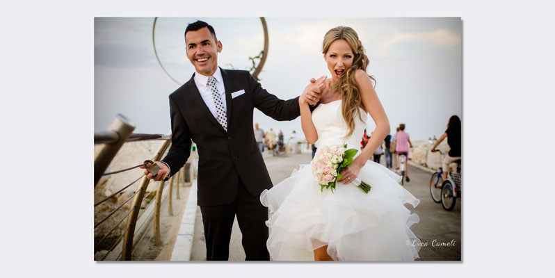 Daniele & Ania - Just Married, San Benedetto del Tronto. © Luca Cameli Photographer