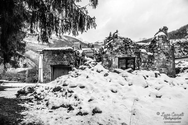 Terremoto Centro Italia. Arquata del Tronto, dicembre 2018. © Luca Cameli Photographer