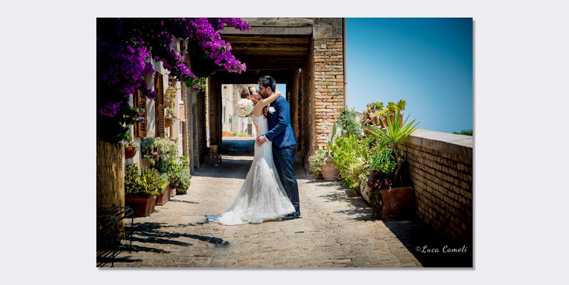 Andrea & Serena - Just Married, Torre Di Palme. © Luca Cameli Photographer