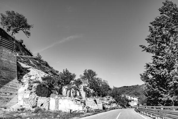 Lo Stato Delle Cose: Terremoto Centro Italia 5 Anni Dopo. Pescara del Tronto, zona rossa. © Luca Cameli Photographer
