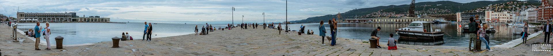 Trieste - Molo Audace