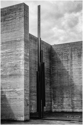 Risiera di San Sabba, Trieste. Statua che raffigura il camino del forno crematorio. Per Non Dimenticare ~ Giorno Della Memoria, 27 Gennaio. © Luca Cameli Photographer
