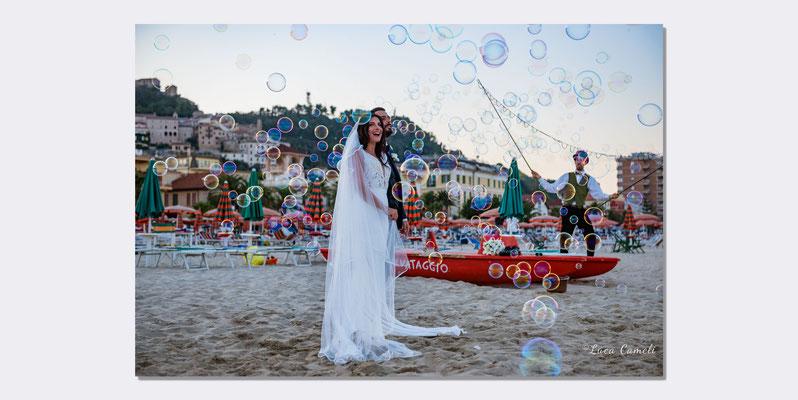 Wedding Photo, Lorenzo & Dalila - W gli sposi! Grottammare. © Luca Cameli Photographer
