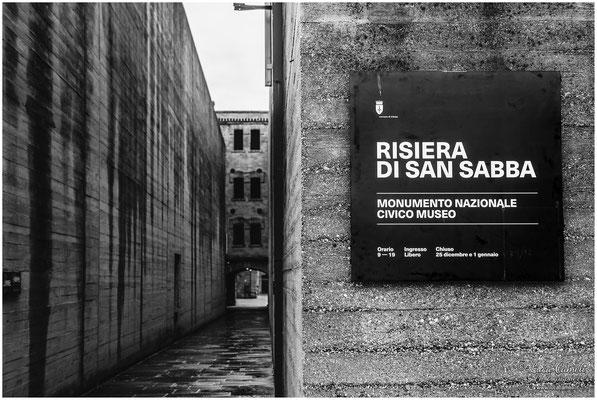 Risiera di San Sabba, Trieste. Ingresso. Per Non Dimenticare ~ Giorno Della Memoria, 27 Gennaio. © Luca Cameli Photographer