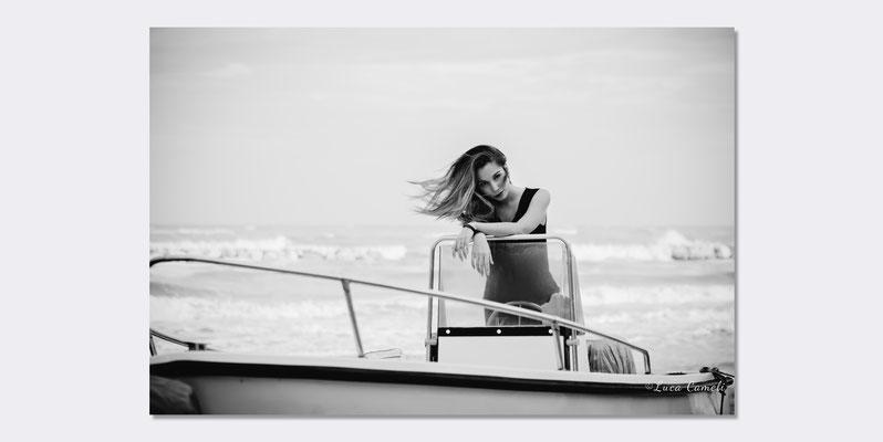 Con Chiara Pattara - Photo Book, Grottammare. © Luca Cameli Photographer