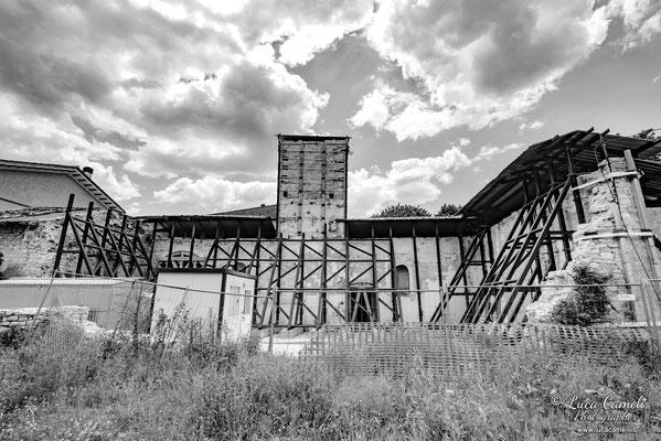 Lo Stato Delle Cose: Terremoto Centro Italia 5 Anni Dopo. Visso, zona rossa. © Luca Cameli Photographer