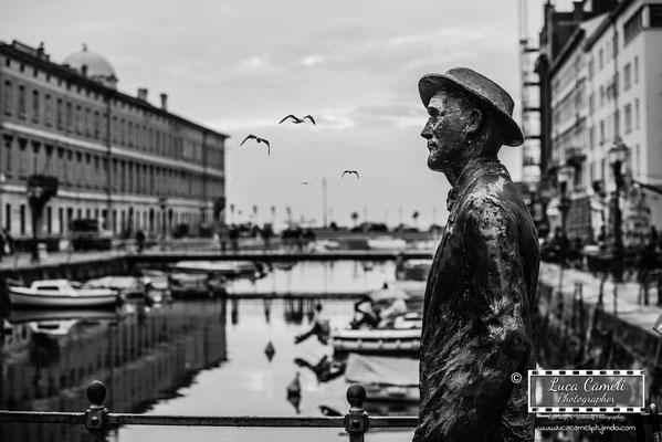 Trieste - Canal Grande, James Joyce