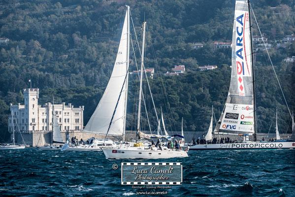 Trieste - Barcolana50, Regata Barcolana, Castello Miramare