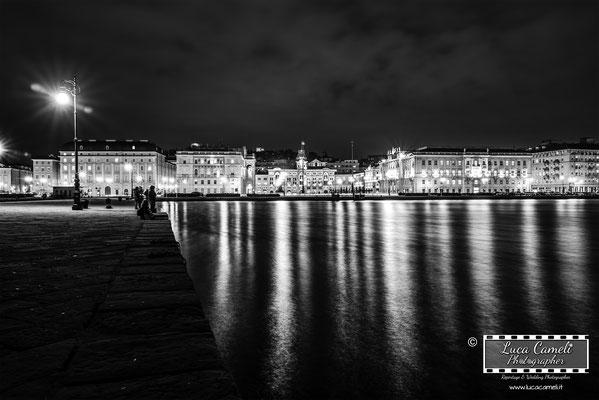 Trieste Paint It Black ~ Trieste - Piazza Unità d'Italia, Molo Audace. Premio Belle Arti 2021, Spoleto Arte. © Luca Cameli Photographer