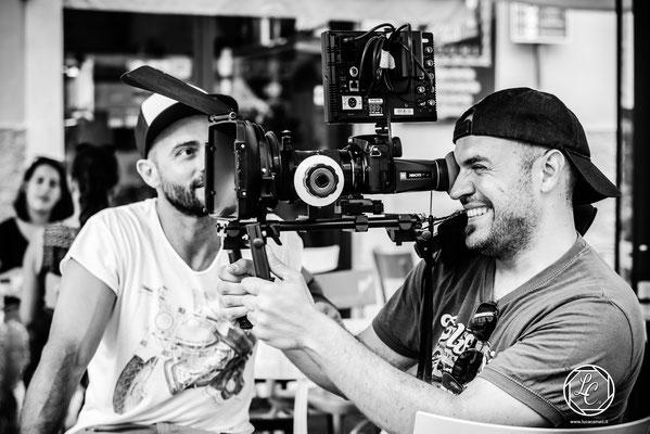 "Fondazione CARISAP ~ Spot ""Mi Piace Esserne Parte"", foto di scena/backstage. © Luca Cameli Photographer"