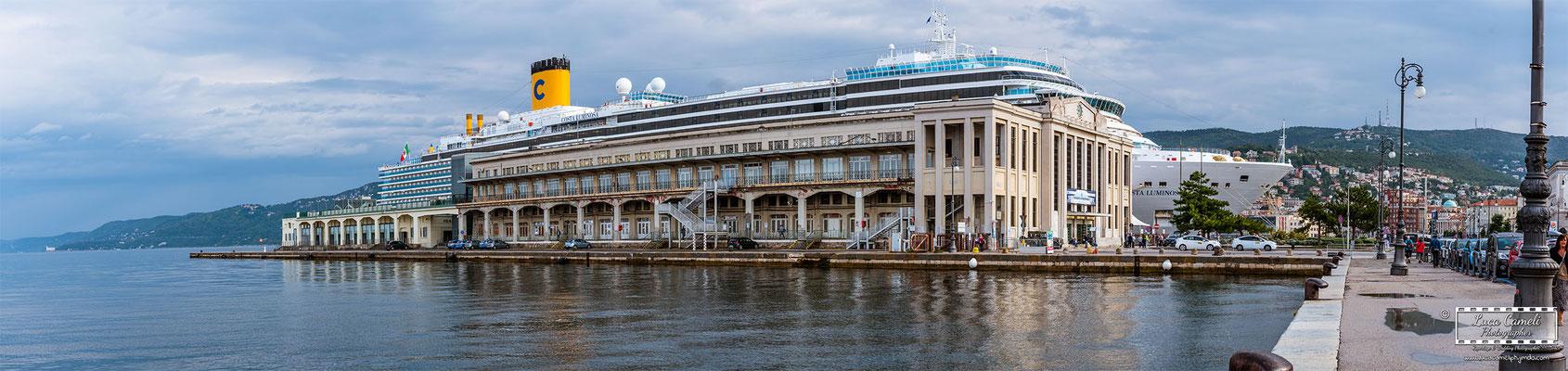 Trieste - Stazione Marittima di Trieste. © Luca Cameli Photographer