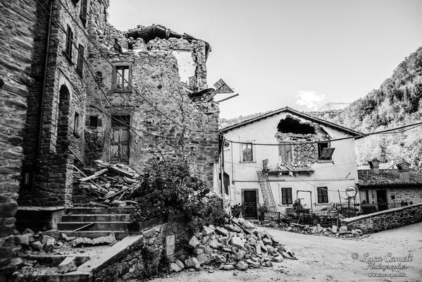 Terremoto Centro Italia. Trisungo, ottobre 2016. © Luca Cameli Photographer