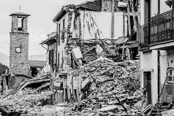 Terremoto Centro Italia. Amatrice, settembre 2016. © Luca Cameli Photographer