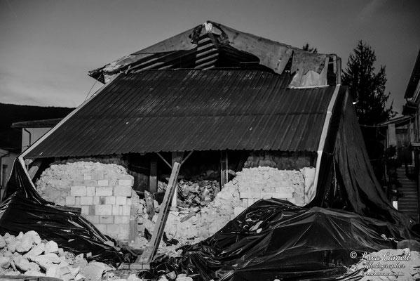 Terremoto Centro Italia. Norcia, dicembre 2016. © Luca Cameli Photographer