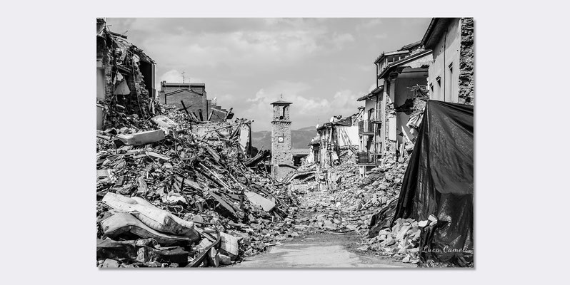 Terremoto Centro Italia 2016 - Per Non Dimenticare, Amatrice. © Luca Cameli Photographer