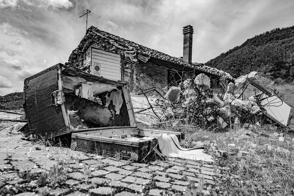 Lo Stato Delle Cose: Terremoto Centro Italia 5 Anni Dopo. Piedilama, zona rossa. © Luca Cameli Photographer