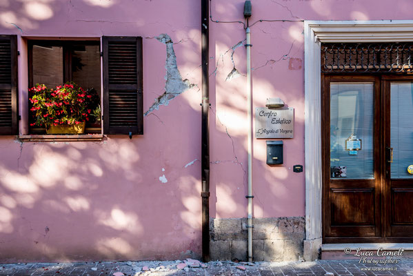 Terremoto Centro Italia. Muccia, novembre 2016. © Luca Cameli Photographer