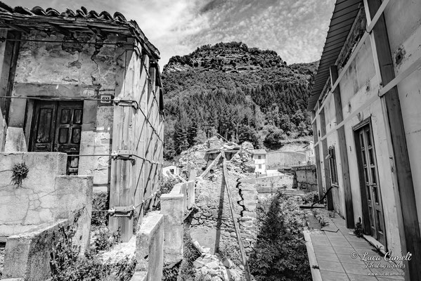 Lo Stato Delle Cose: Terremoto Centro Italia 5 Anni Dopo. Trisungo, zona rossa. © Luca Cameli Photographer