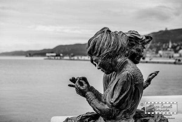 Le Ragazze di Trieste, Molo Audace - Trieste. © Luca Cameli Photographer