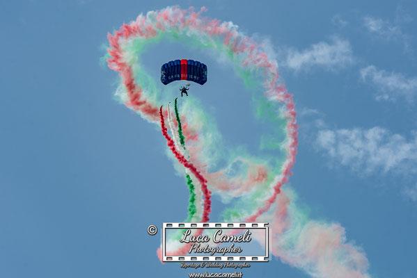Air Show - Team Carabinieri Paracadutisti Tuscania- San Benedetto del Tronto