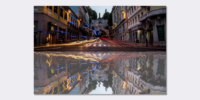 """Trieste in Piazza Goldoni - Scala Dei Giganti - Premiato """"Premio Canaletto"""" Spoleto Arte - La Biennale Di Venezia D'Arte 2019 ~ Spoleto Pavilion. © Luca Cameli Photographer"""