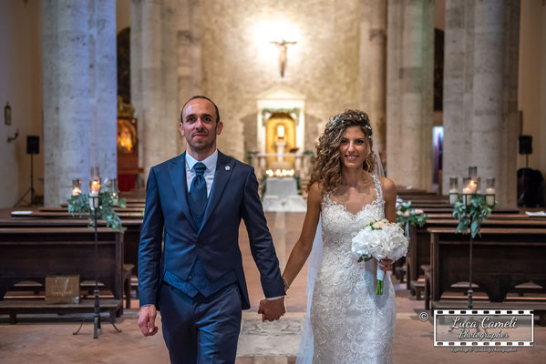 Wedding Photo: Daniele & Eleonora ~ Just Married!