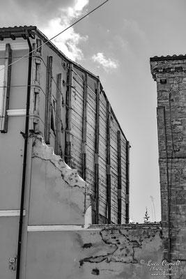Lo Stato Delle Cose: Terremoto Centro Italia 5 Anni Dopo. Camerino, zona rossa. © Luca Cameli Photographer