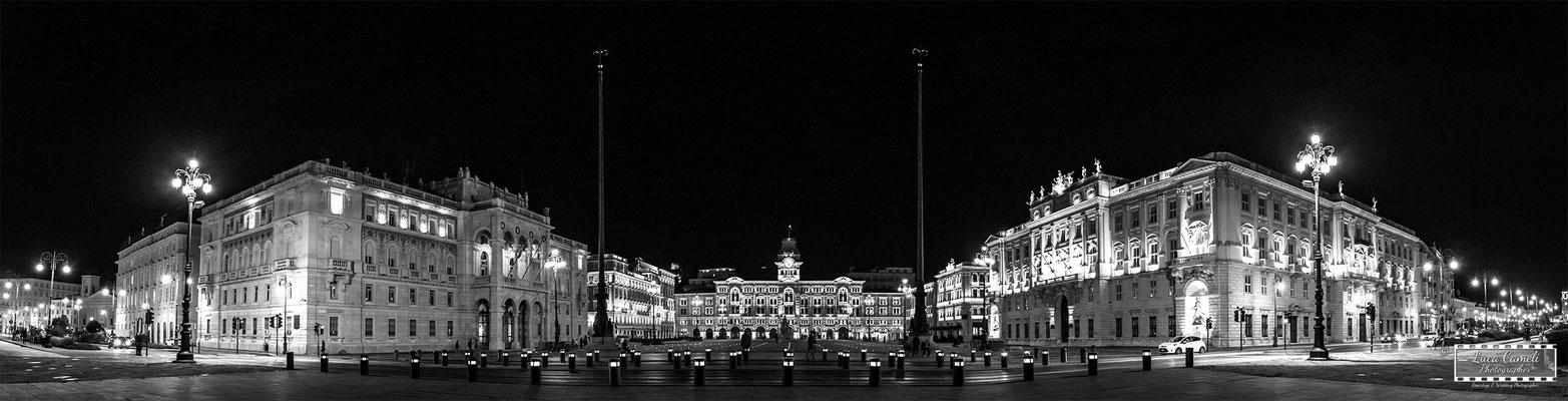 """Trieste - Piazza Unità d'Italia - """"Trieste Mon Amour"""", """"Premio Internazionale Ambasciatore d'Arte"""", Spoleto Arte a Cura di Vittorio Sgarbi, Istanbul - Pechino - Shanghai - Tokyo. © Luca Cameli Photographer"""