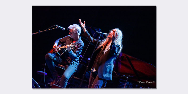 Patti Smith - Politeama Rossetti Trieste. © Luca Cameli Photographer