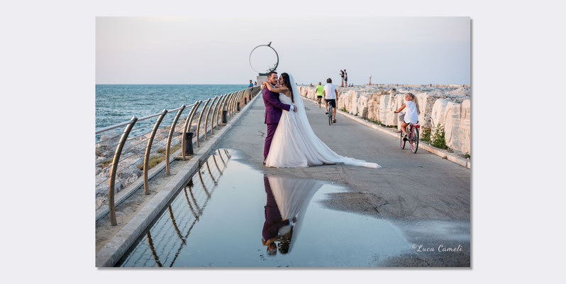 Marco & Martina - Just Married, San Benedetto del Tronto. © Luca Cameli Photographer