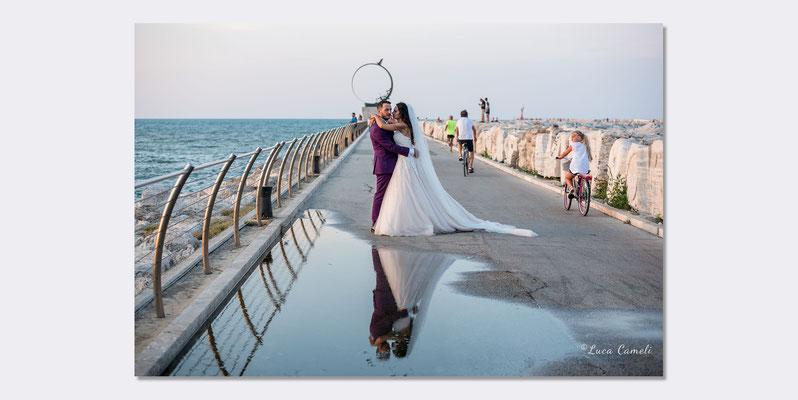 Marco & Martina - W gli sposi! San Benedetto del Tronto. © Luca Cameli Photographer