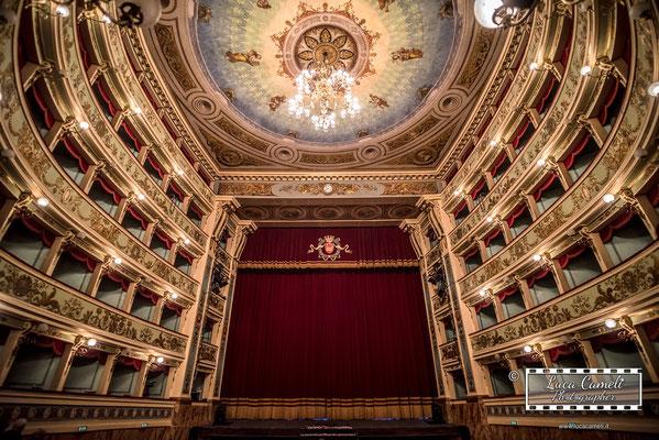 """Teatro Ventidio Basso di Ascoli Piceno. """"Il Giardino Dei Cigliegi"""" Accademia Di Teatro di Eugenio Olivieri (10/2018). © Luca Cameli Photographer"""