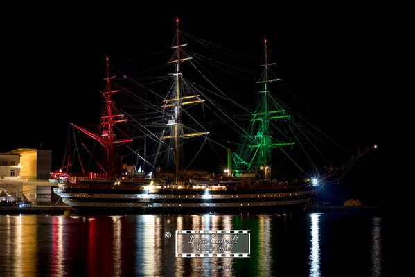 Nave Scuola Amerigo Vespucci, Trieste - Barcolana50. Giornata della Marina Militare, 10 giugno. © Luca Cameli Photographer