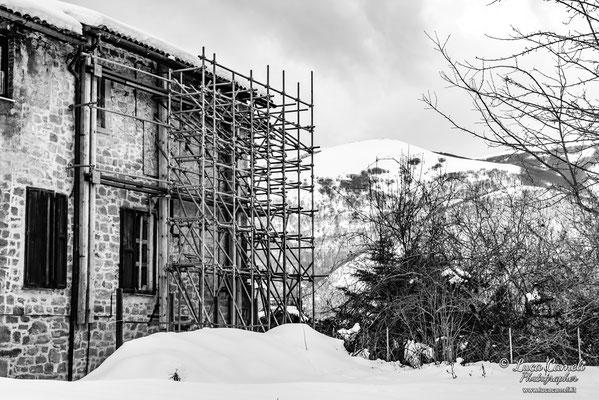 Terremoto Centro Italia. Spelonga, dicembre 2018. © Luca Cameli Photographer