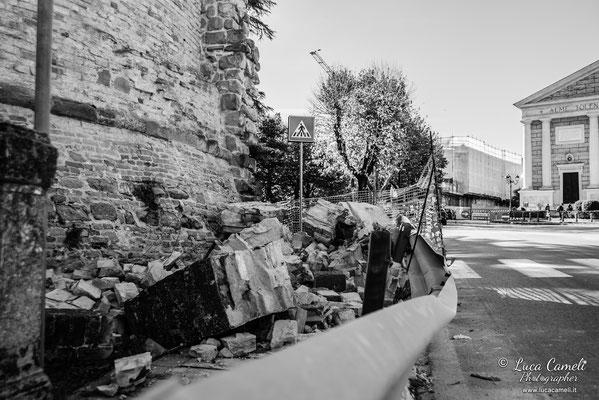 Terremoto Centro Italia. Tolentino, novembre 2016. © Luca Cameli Photographer