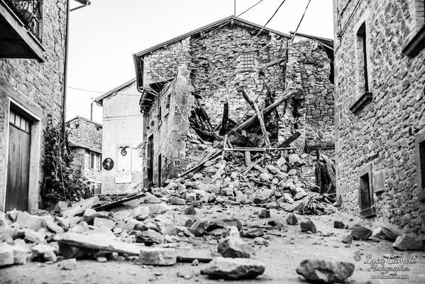 Terremoto Centro Italia. Spelonga, ottobre 2016. © Luca Cameli Photographer