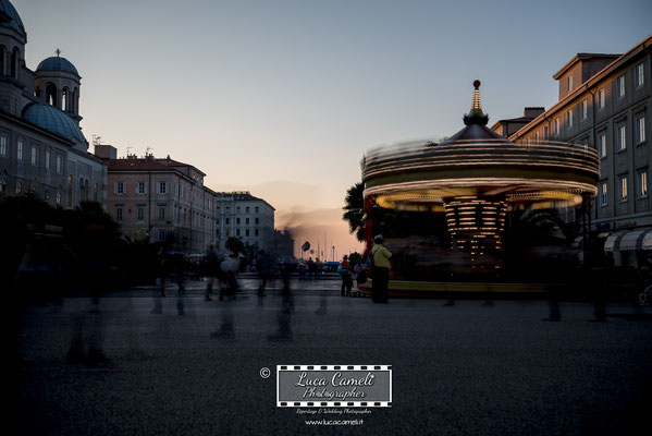 Trieste - Barcolana50, Canal Grande