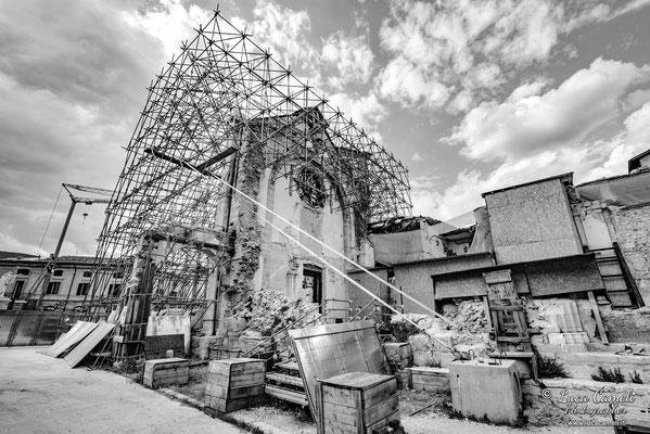 Lo Stato Delle Cose: Terremoto Centro Italia 5 Anni Dopo. Norcia, zona rossa. © Luca Cameli Photographer