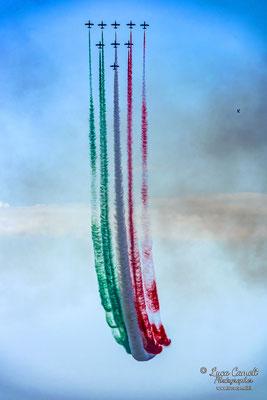 Frecce Tricolori compiono 60 anni. Air Show, San Benedetto del Tronto (2019). © Luca Cameli Photographer