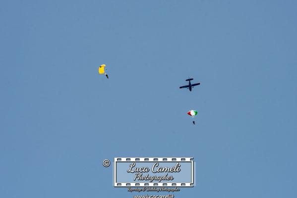 Air Show - Lanci Paracadutisti - San Benedetto del Tronto
