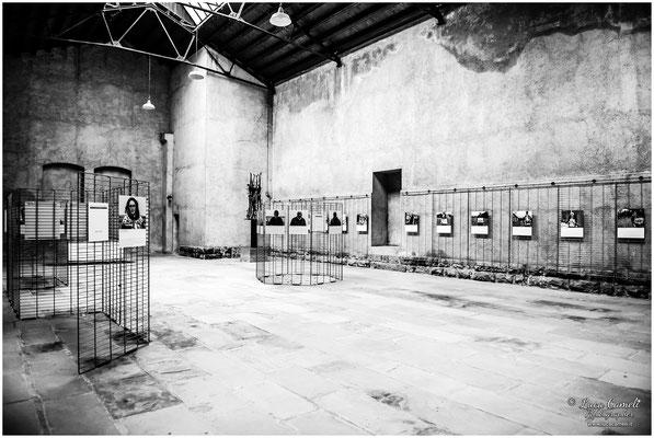 Risiera di San Sabba, Trieste. Sala delle commemorazioni. Giorno Della Memoria, 27 Gennaio. © Luca Cameli Photographer