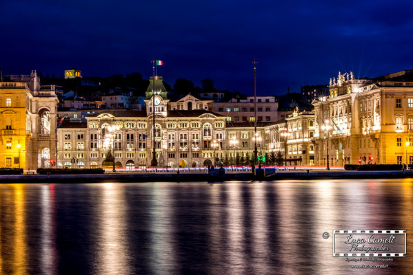 Trieste - Piazza Unità d'Italia. © Luca Cameli Photographer