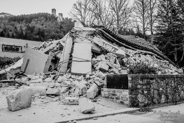 Terremoto Centro Italia. Visso, novembre 2016. © Luca Cameli Photographer