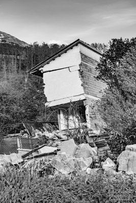Lo Stato Delle Cose: Terremoto Centro Italia 5 Anni Dopo. Amatrice Frazione Saletta, zona rossa. © Luca Cameli Photographer