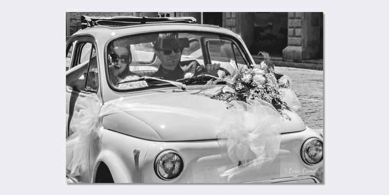 Roberto & Emanuela - Just Married, Offida. © Luca Cameli Photographer