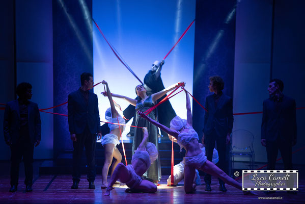 "Teatro delle Energie, Grottammare. ""Demòni"" Accademia Di Teatro di Eugenio Olivieri (05/2018). © Luca Cameli Photographer"
