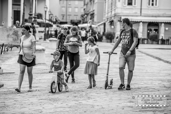 Trieste - Piazza Ponterosso. © Luca Cameli Photographer