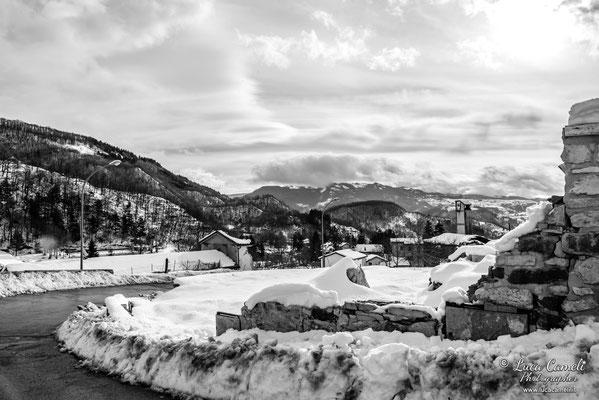 Terremoto Centro Italia. Pretare, dicembre 2018. © Luca Cameli Photographer